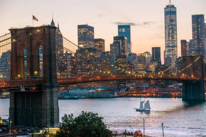 New York la Grande Mela America & Alaska