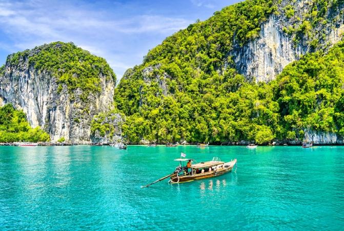 White Thailand Asia