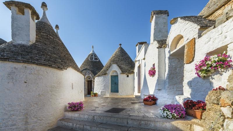 Puglia e la penisola salentina Italia