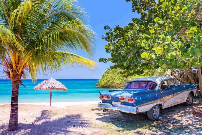 Cuba a portata di mano Caraibi, Cuba, Messico